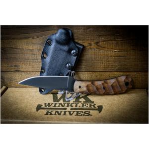 Winkler Knife SD2 Walnut Sculpted