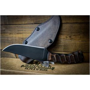 Winkler Belt Knife Maple Sculpted