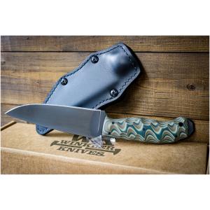 Winkler Crusher Belt Knife Camo G10 Sculpted