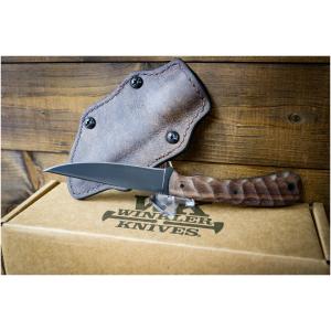Winkler Knife Operator Walnut Sculpted