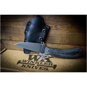Winkler Knife SD2 Black Micarta