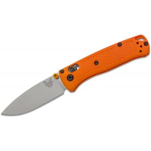 Benchmade Mini Bugout Orange Folding Knife