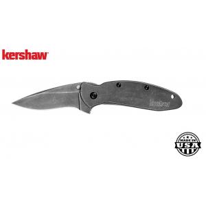 Kershaw Scallion Framelock Blackwash Folding Knife