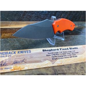 Jake Hoback Fixed Blade Orange Knife