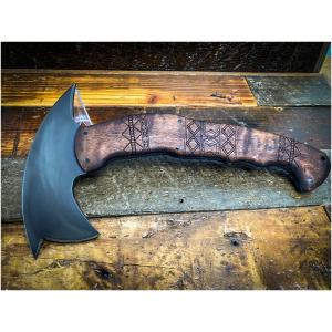 Winkler Knives - RnD Compact Maple / Front Spike / Tribal
