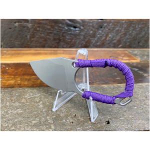 Hoback Fixed Blade Purple Paracord Knife