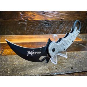 Fox Knives Karambit Folding Knife / Black Micarta 479MIB