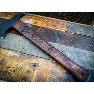 Winkler Hammer Combat Axe Maple Tribal