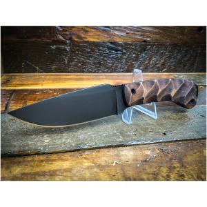 Winkler Woodsman Maple Sculpted Fixed Blade Knife