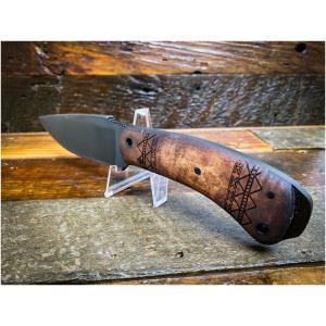 Winkler Woodsman Maple Tribal Knife
