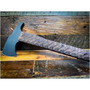 Winkler Knives - Hammer Combat Axe / Walnut Sculpted