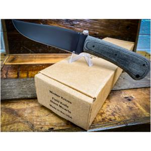 Winkler Field Knife Black Micarta
