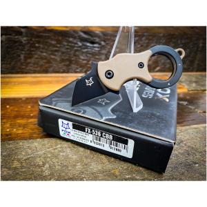 Fox Knives Mini-TA Coyote Karambit / FX-536CBB