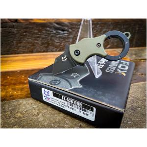 Fox Knives Mini-TA OD Green Karambit / FX-536ODB