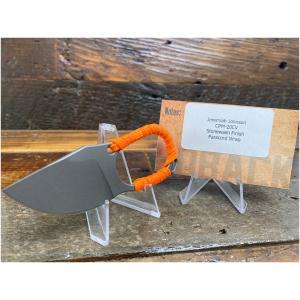 Jake Hoback Orange Paracord Knife