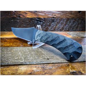 Winkler Knives - Belt Knife Black Laminate / Sculpted