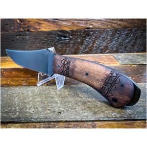 Winkler Knives - Crusher Belt Knife Maple/Tribal