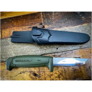 Morakniv Basic 511 Fixed Blade Knife OD Green
